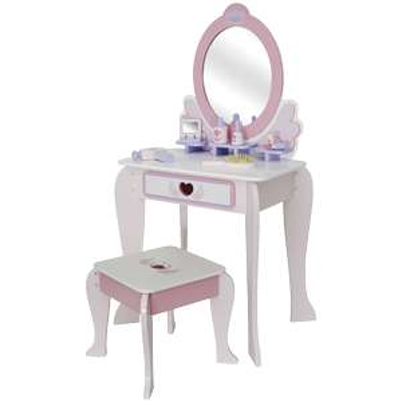 Toaletka drewniana dla dziewczynki ACTION (tylko stacjonarnie)