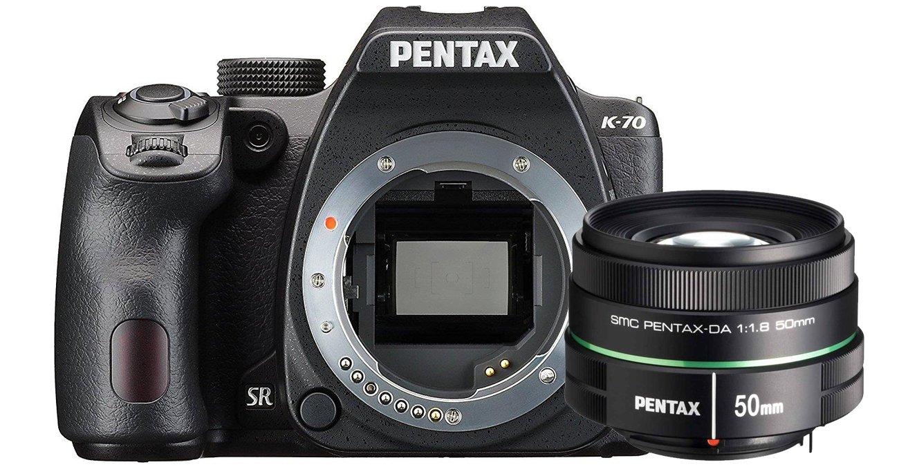 Pentax K70 + DA 50/1.8 i Pentax KP + DA 35/2.4