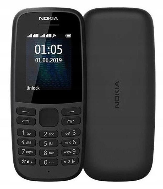 Telefon komórkowy NOKIA 105 2019 Dual SIM