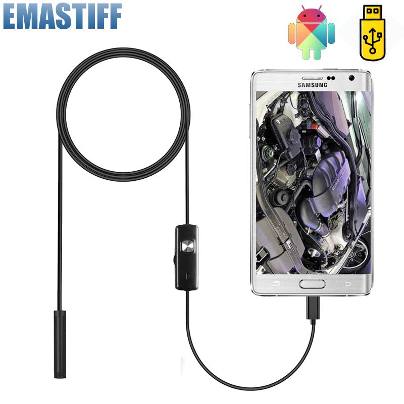 Kamera endoskopowa z LED - 2M - USB Micro / Type C / OTG - Android oraz PC !!!