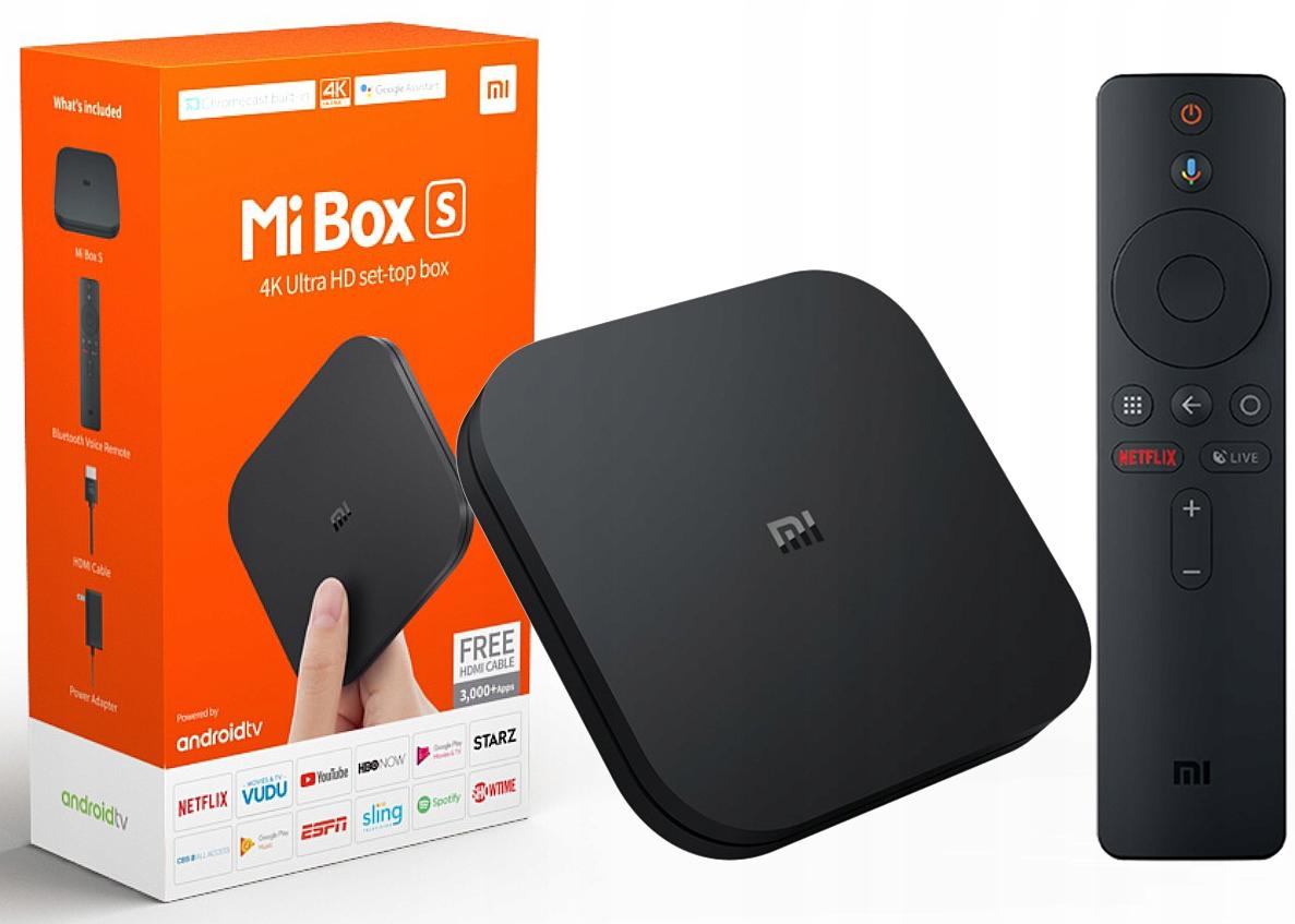 Xiaomi Mi Box S TV 4K