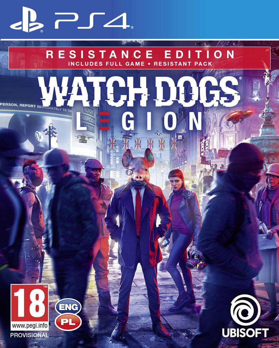 Gra PS4 Watch Dogs Legion Resistance Edition 159zł