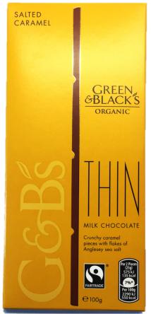 Bio Czekolada Green & Black's Organic Salted Caramel 100g