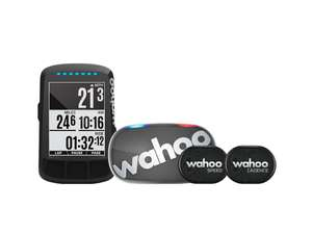 Licznik rowerowy Wahoo Fitness Elemnt Bolt Stealth GPS Bundle,