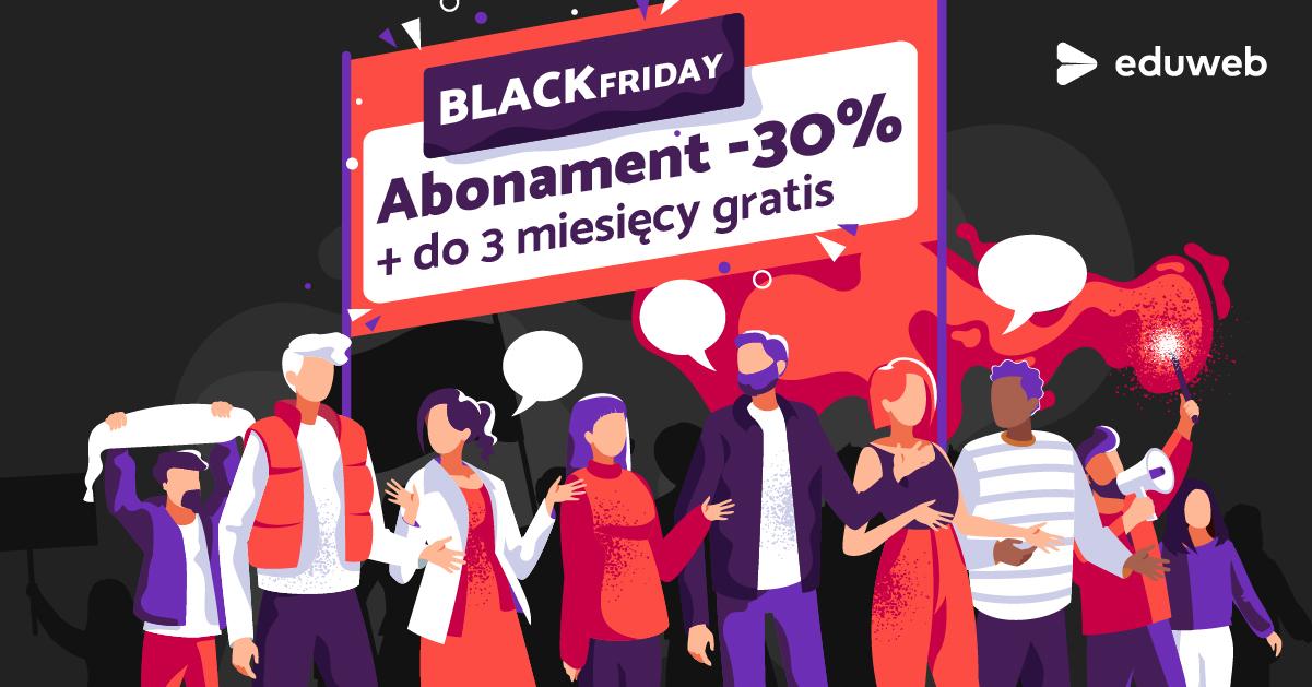 Black Friday na eduweb.pl do -30%