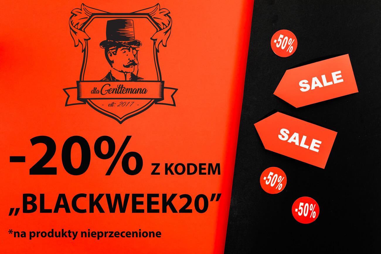 Czarny Tydzień ruszył w DlaGentlemana.pl! Zamawiaj produkty z rabatem do 20%