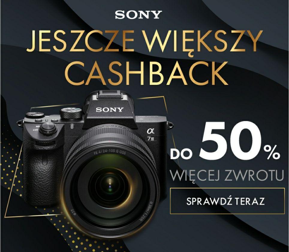 Sony A7III i inne cashback + rabat na Black Friday