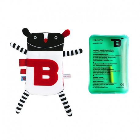 LullaLove termofor z wkładem Mr B