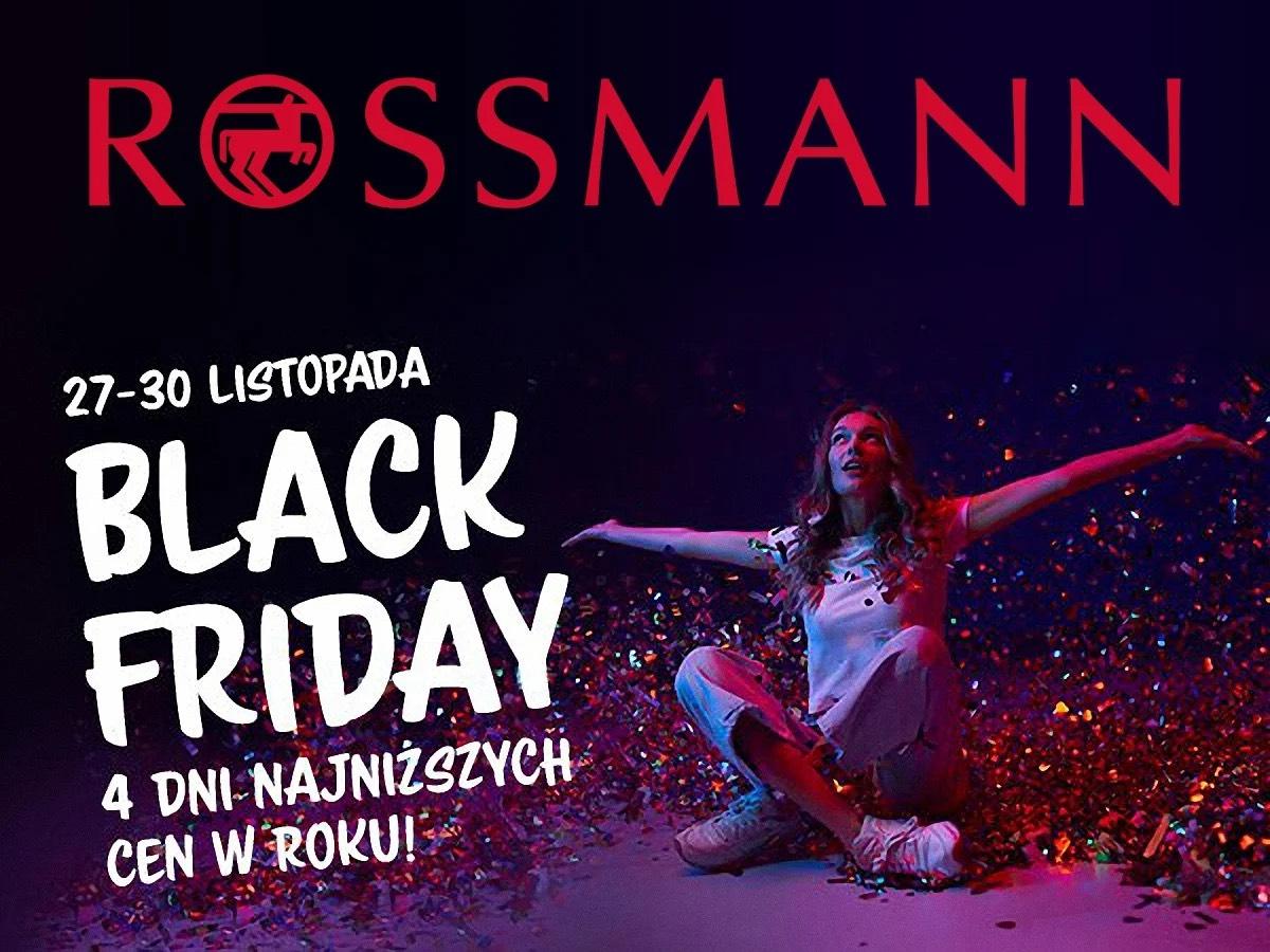 Black Friday w Rossmannie perfumy do 60%