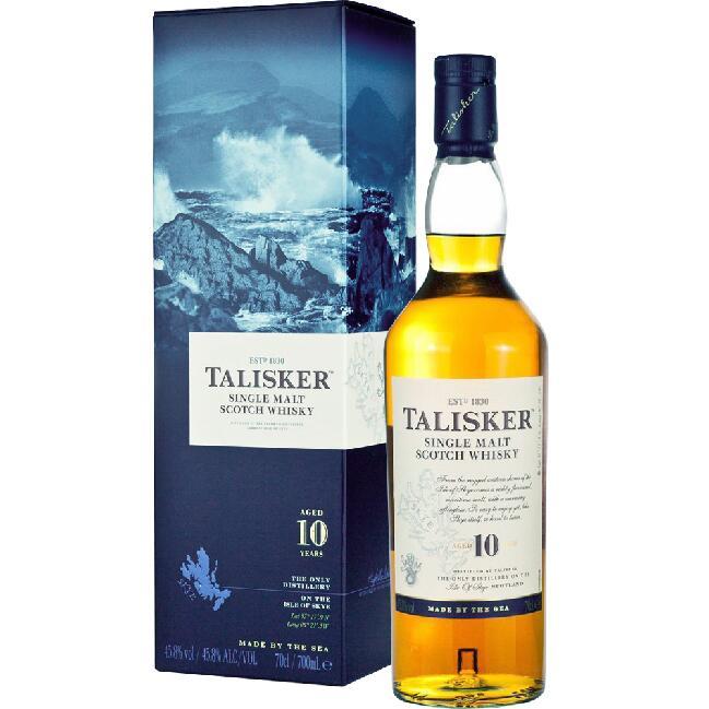 Whisky TALISKER 10Y 0,7L - Black Week na kukunawa.pl