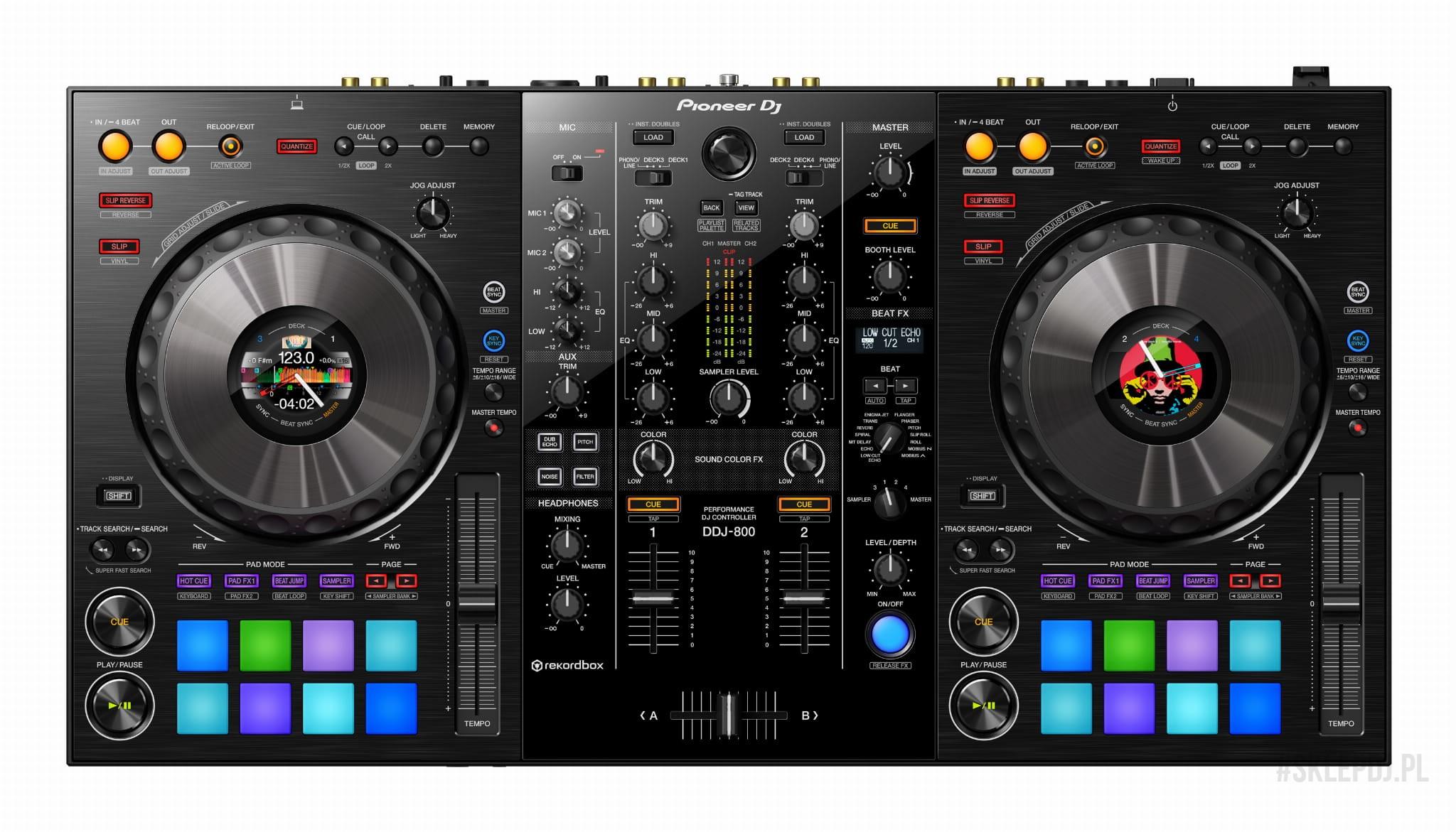 Kontroler DJ Pioneer DDJ-800