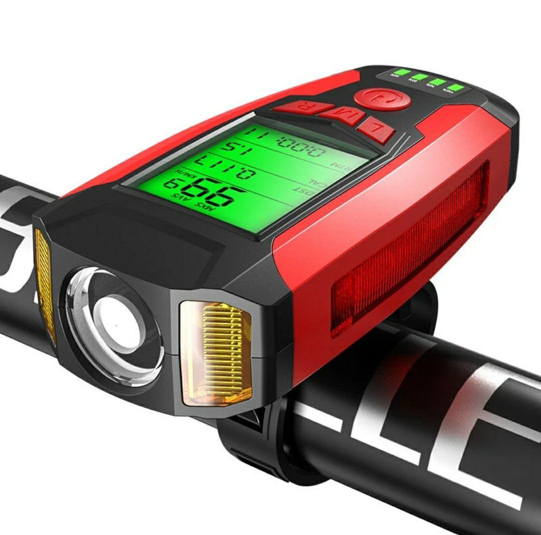 BIKIGHT 3w1 LED 350LM USB IPX4 @Banggood