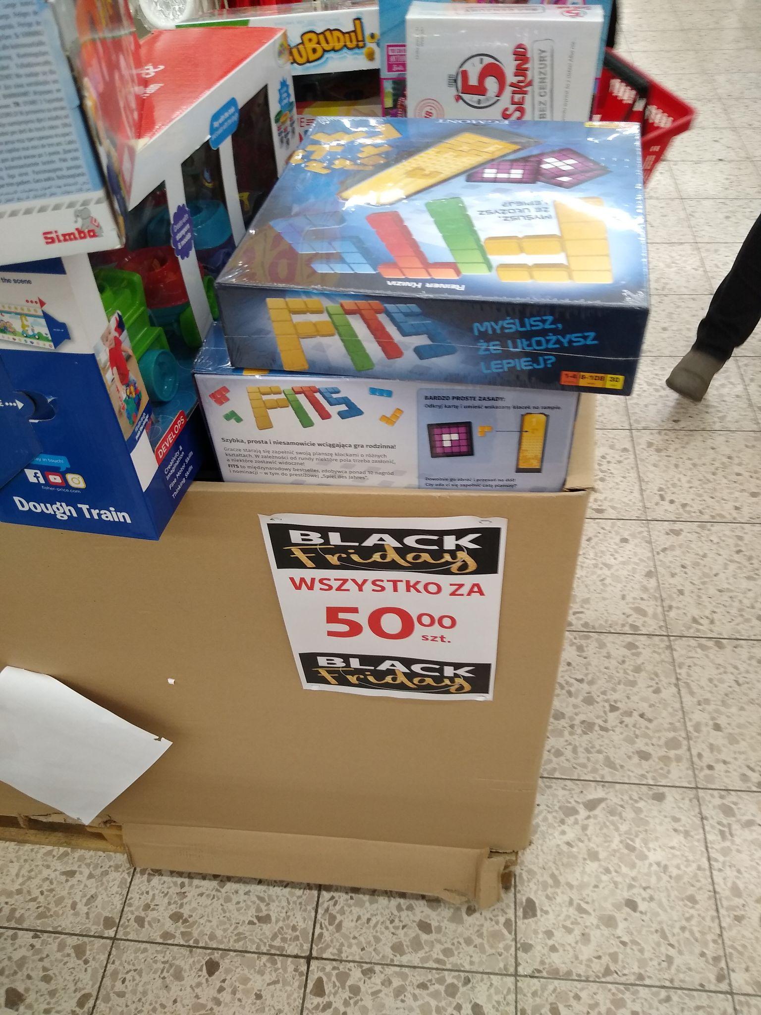 Gra planszowa Fits w Auchan Tychy