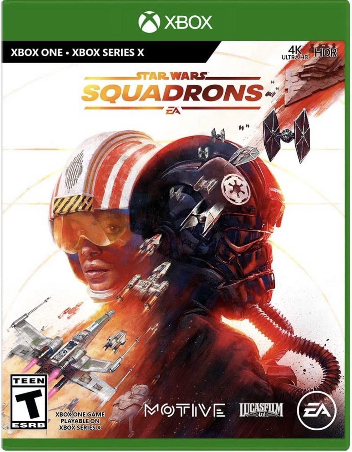 Star Wars Squadrons za 100.51 zł (z wliczoną 9 dolarową wysyłką) na Amazon.com - troszkę taniej niż w polskich sklepach. XBOX ONE / PS4