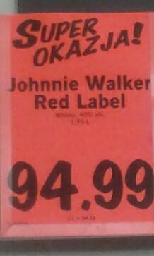 Johnie Walker 1.75 l Lidl