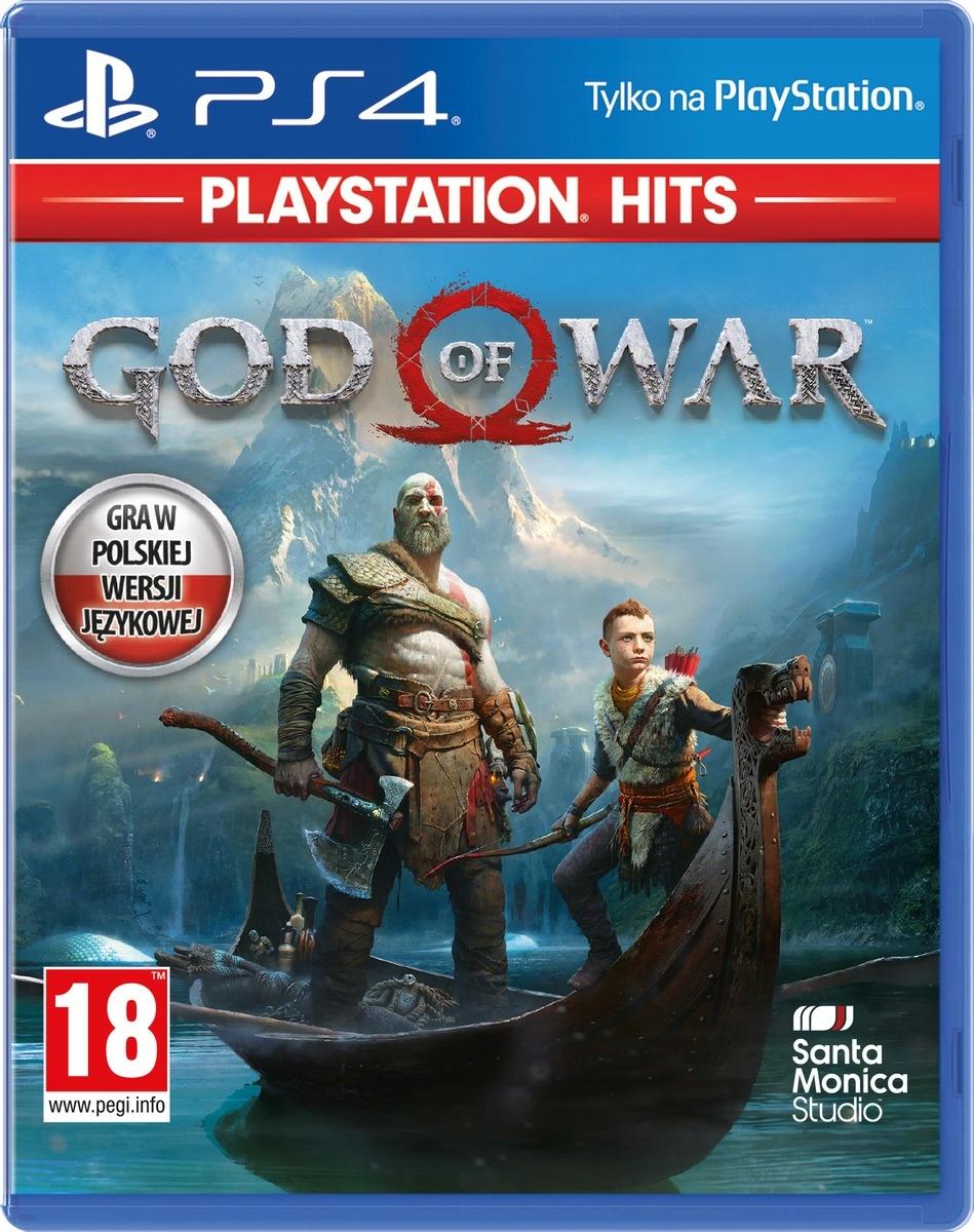 PS4 God Of War PL Folia