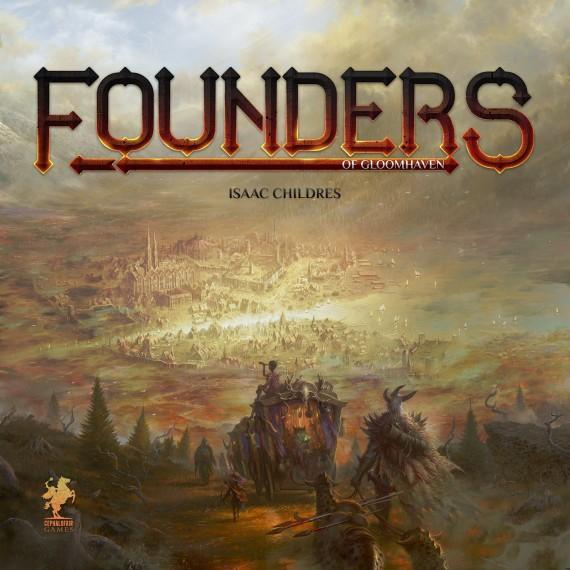 gra planszowa Founders of Gloomhaven wydanie angielskie