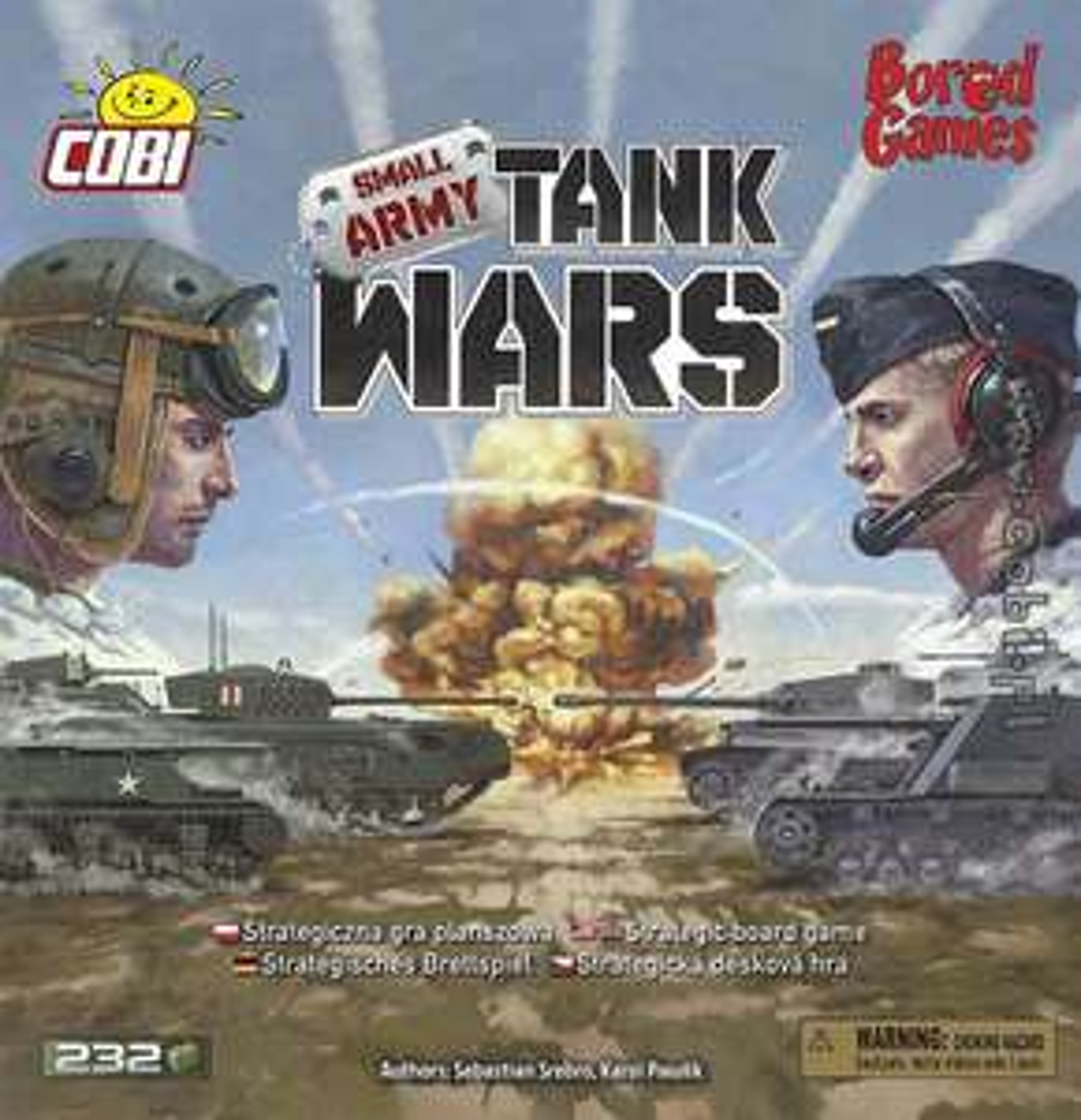 Gra planszowa Cobi - Tank Wars // -30% wszystko na cobi.pl