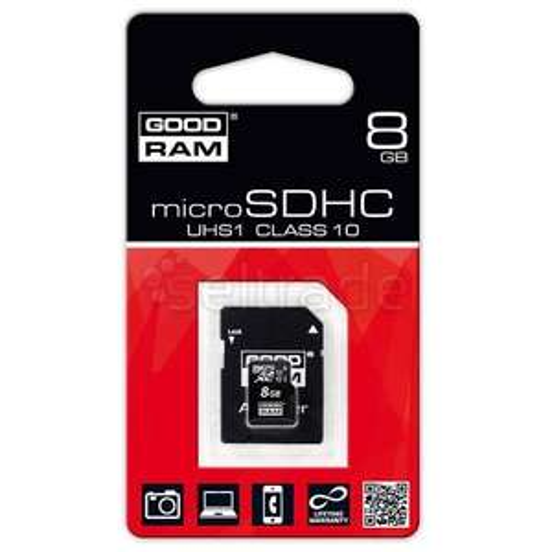 Karta MicroSD Goodram 8gb w Carrefour w Toruniu