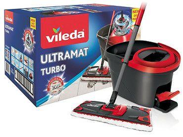 Płaski mop obrotowy Vileda Ultramat Turbo