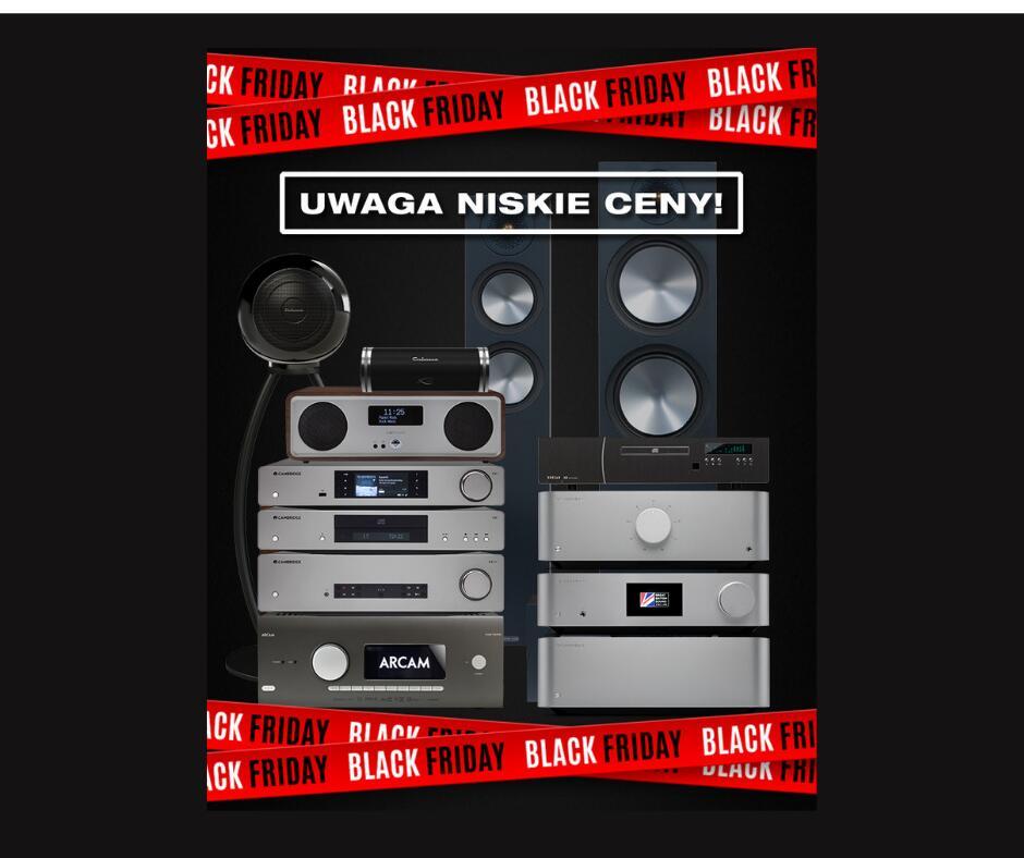 Black Friday - Audio (ponad 2200 produktów przecenionych do -30%)