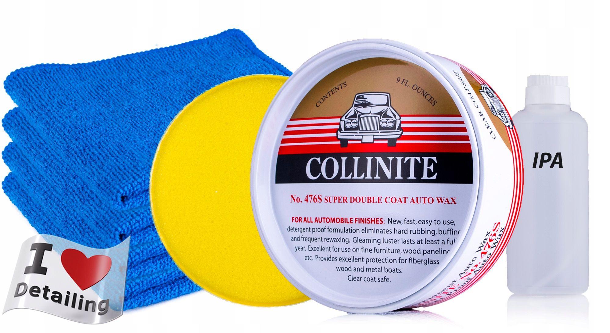 COLLINITE 476S WOSK + APLIKATOR + 4x MIKROFIBRA