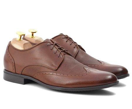 Skórzane buty męskie - brilu
