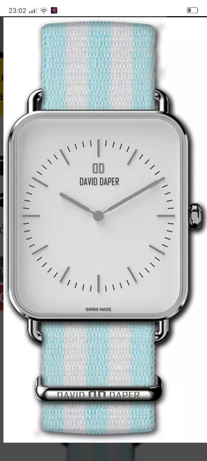 Zegarek, zegarki David daper w cenach od 180 zł.