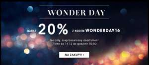 Sephora Wonderday -20%