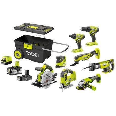 Zestaw narzędzi akumulatorowych Ryobi