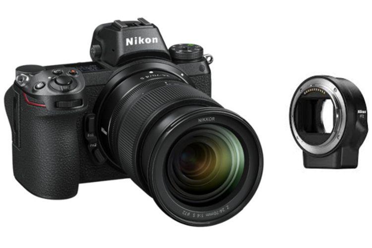 Nikon Z6 + adapter FTZ + Nikkor 24-70/f4 S