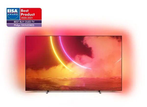 Telewizor OLED Philips 55OLED805/12 bliźniaczy do 55OLED855 i 55OLED865