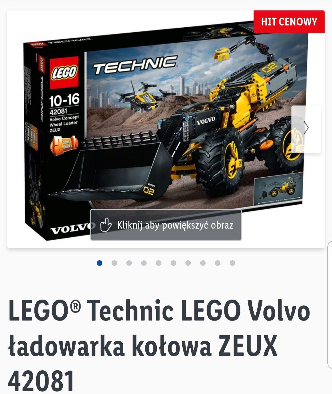 Lego Technic Volvo Ładowarka Kołowa Zeux 42081