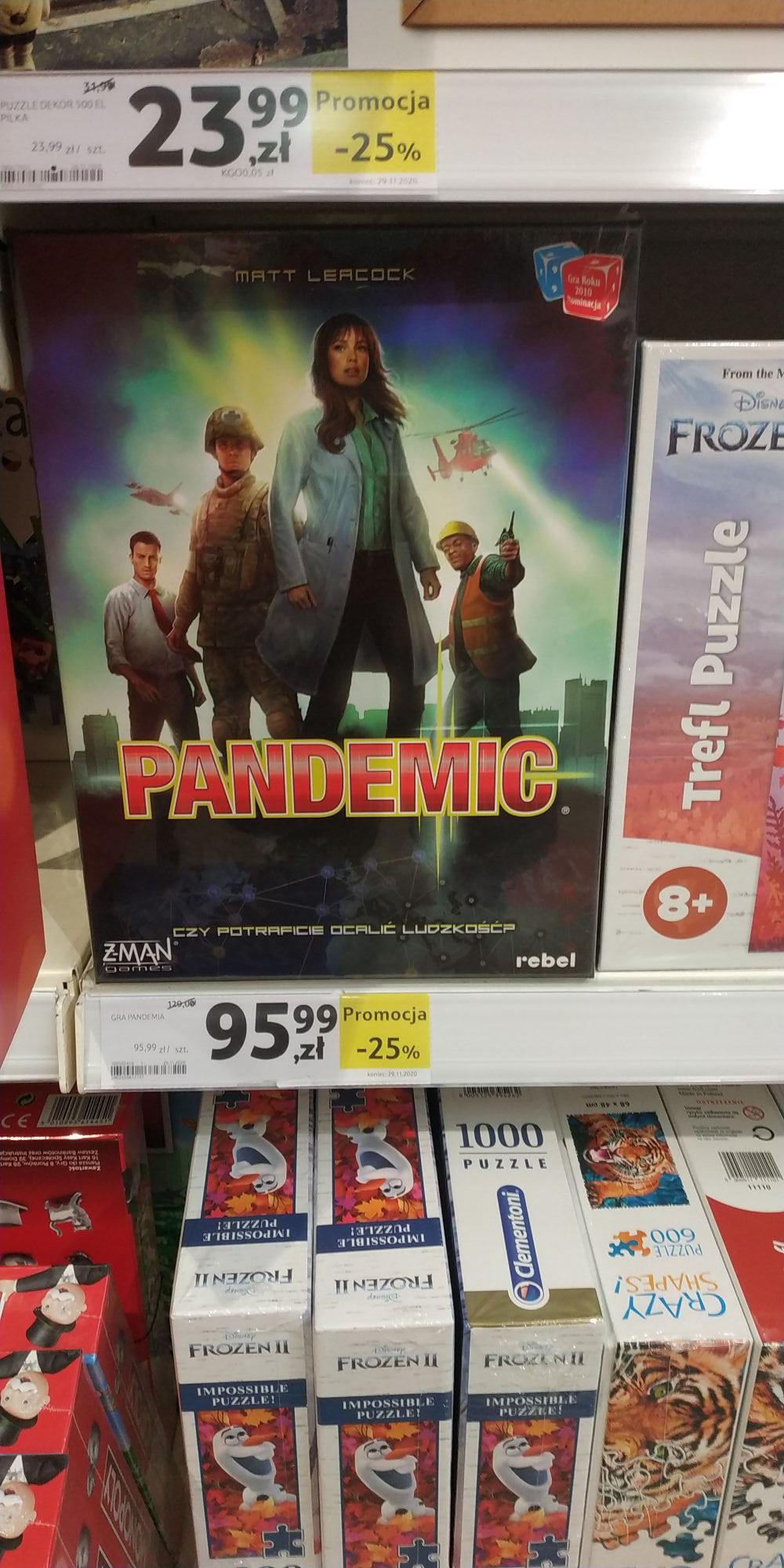 Pandemic - Tesco Gorczewska
