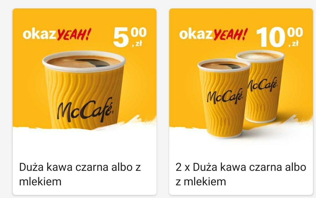 Kawa za 5zł duża 370ml McDonald's