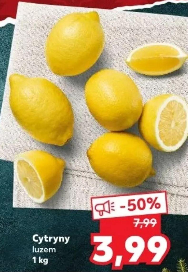 Cytryna luzem 3,99 zł/kg Kaufland (30.11-02.12)
