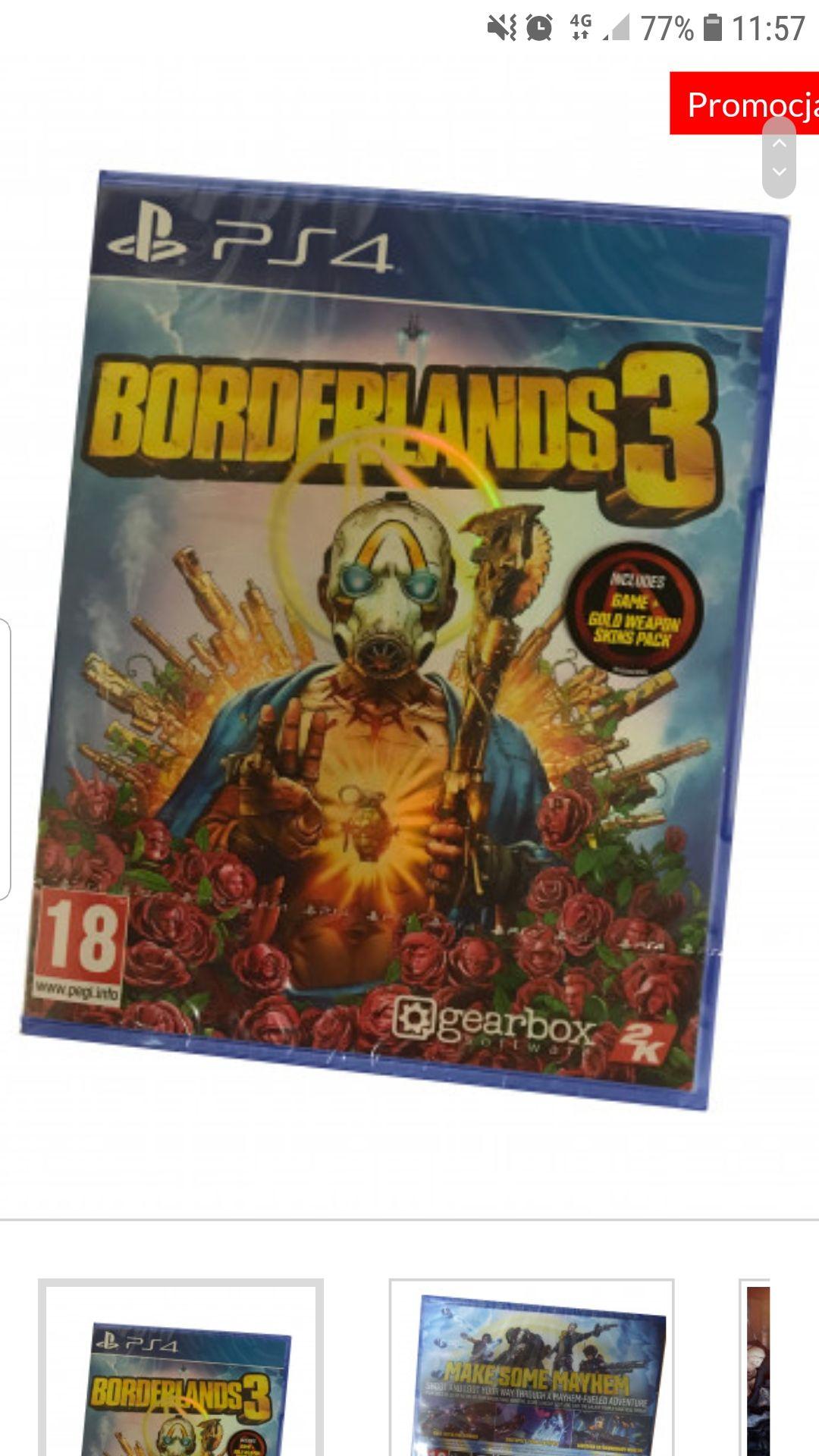 Borderlands 3 na PS4