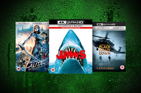 3 Filmy UHD 4K za $40