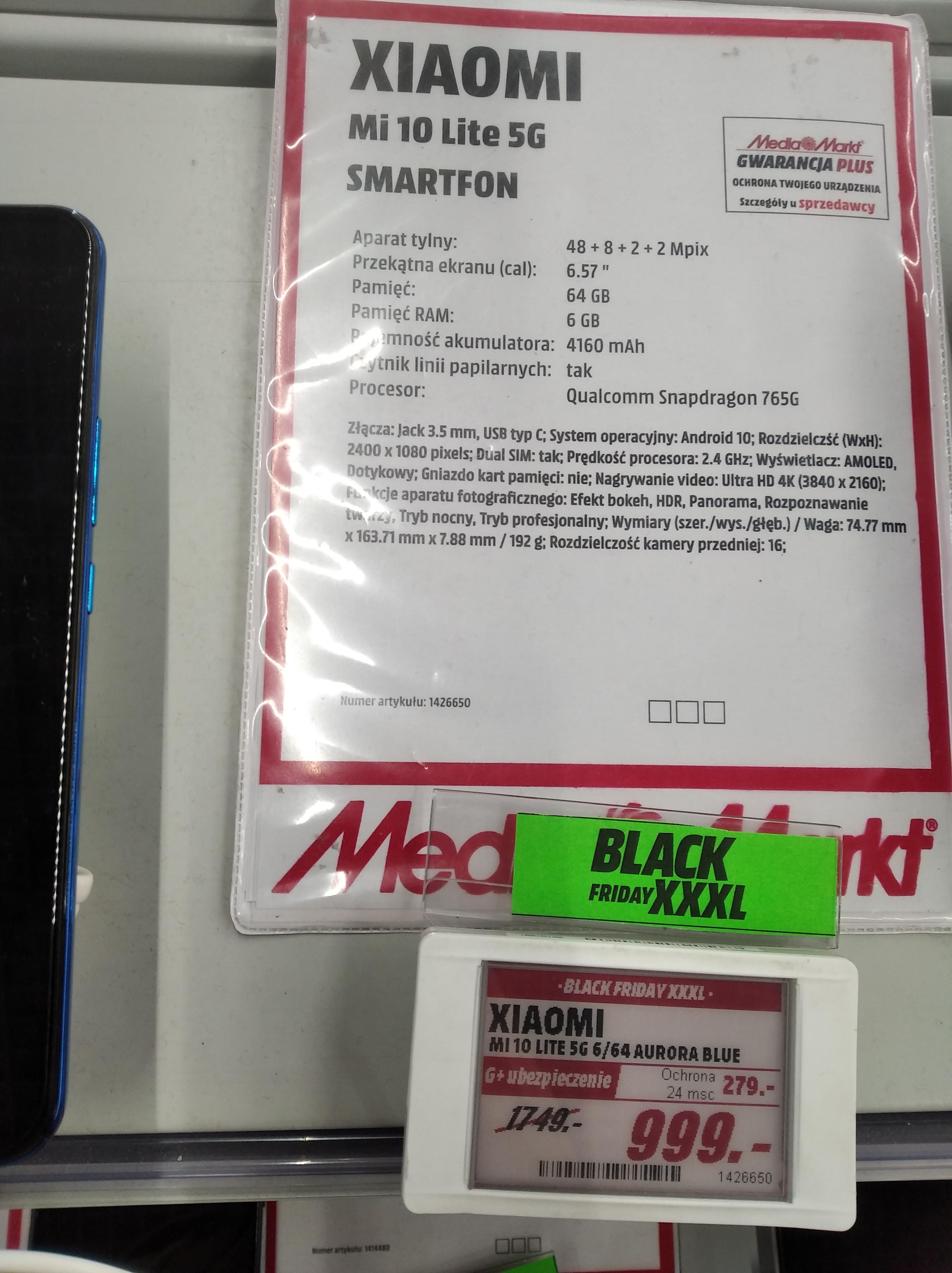 Xiaomi Mi 10 Lite 5G 6/64