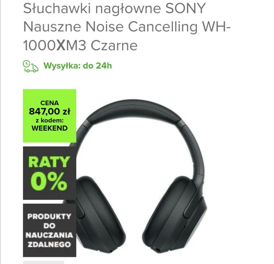 Sony wh-1000xm3 z cashback letyshops
