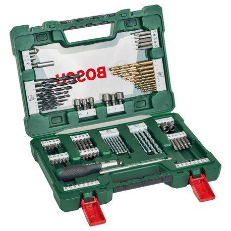 Bosch Zestaw wierteł/końcówek 91 elementów