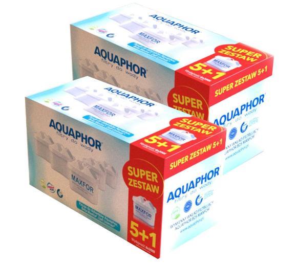 Filtry Aquaphor B100-25 Maxfor - 12 szt., odb.os. 0zł