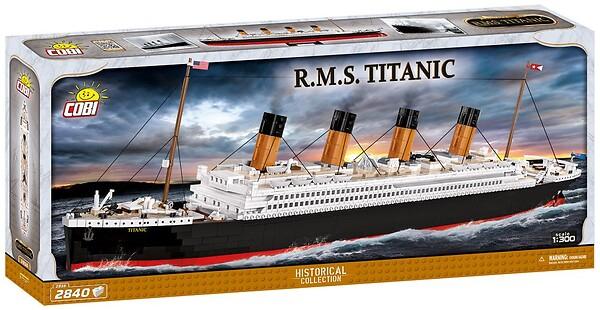 Klocki RMS Titanic Cobi 1916