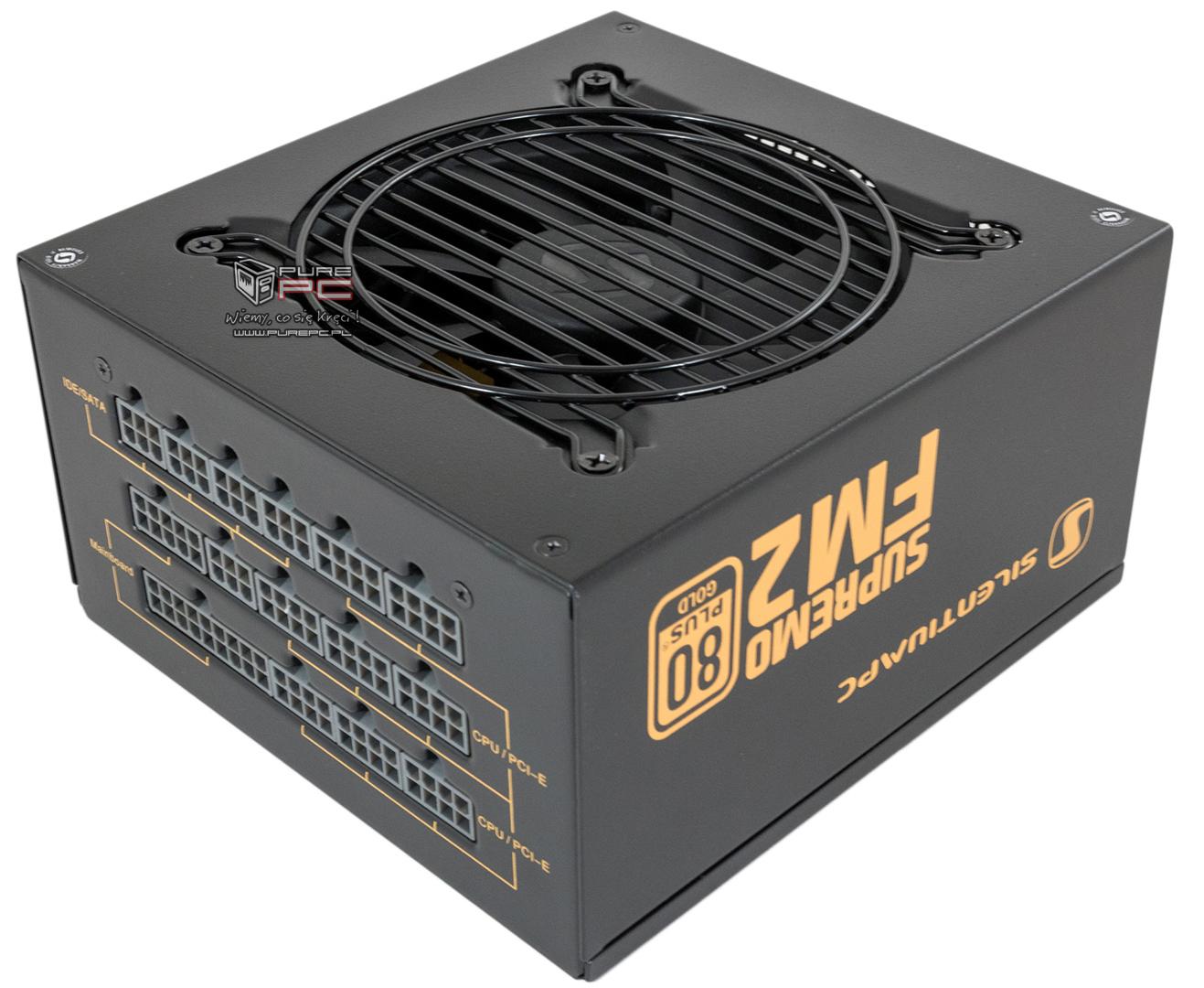 Zasilacz SilentiumPC Supremo FM2 GOLD 650W MODULAR