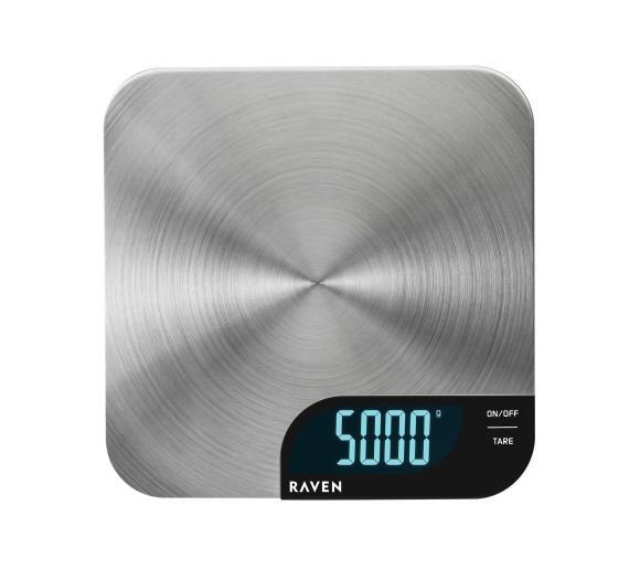 Waga kuchenna RAVEN EWK007 5kg LCD @ Euro