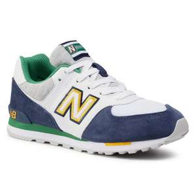 Sneakersy NEW BALANCE GC574NLB Biały Kolorowy