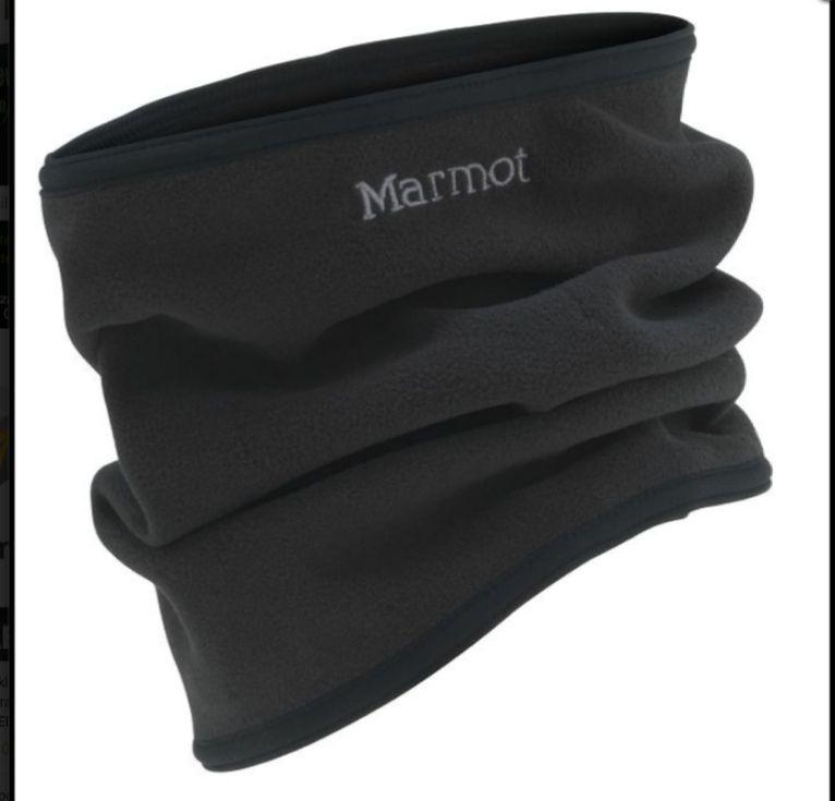 Komin Marmot Neck Gaiter oraz czapki.