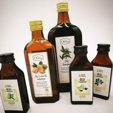-20% z kodem BLACK20 na wszystkie oleje zimnotłoczone nierafinowane i zdrową żywność