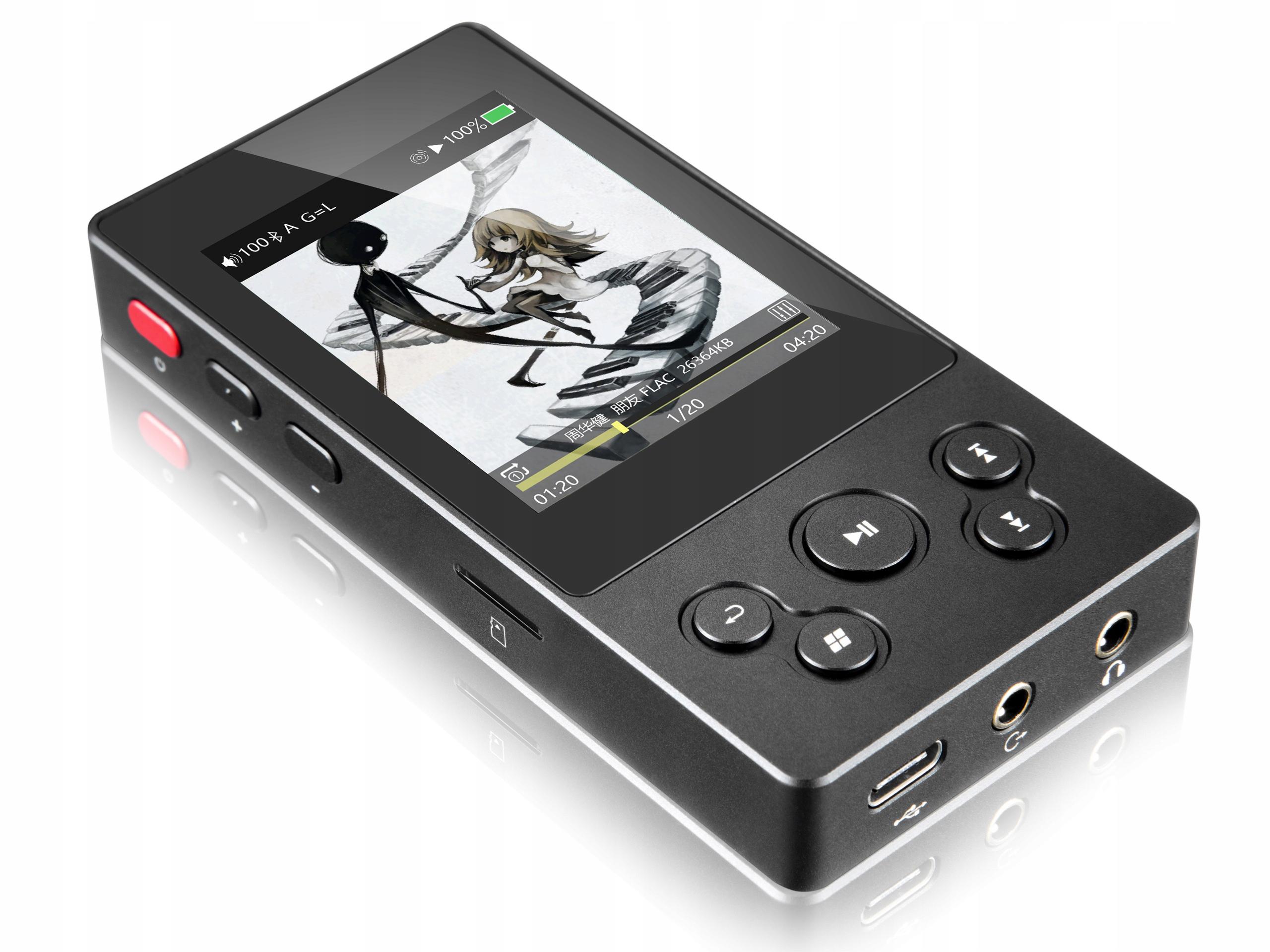 Odtwarzacz xDuoo X3 II, Bluetooth, funkcja DAC $85