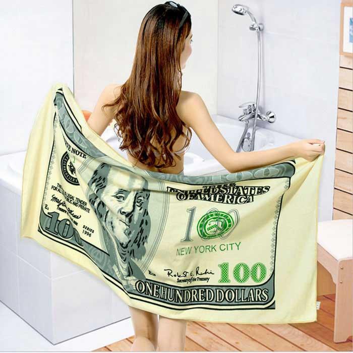 Printed Beach Towel - Light Green DX EU Direct 35zł +30zł dostawa